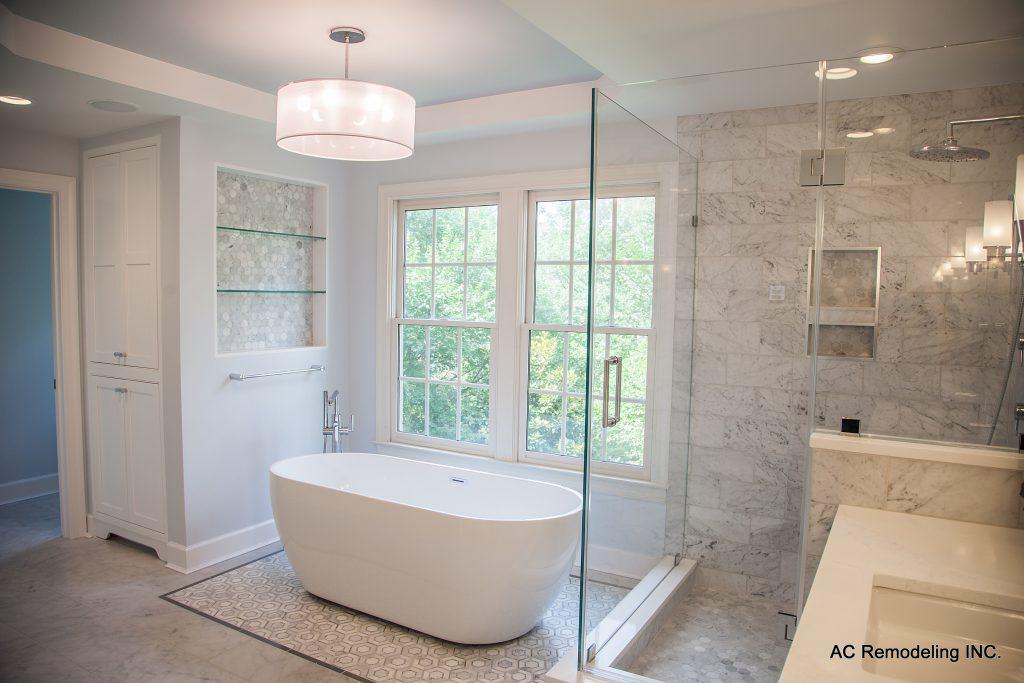 Master Bath Freestanding Tub