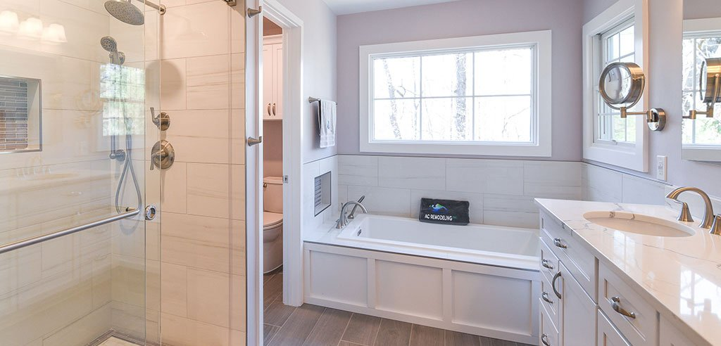 banner image of bathroom remodel