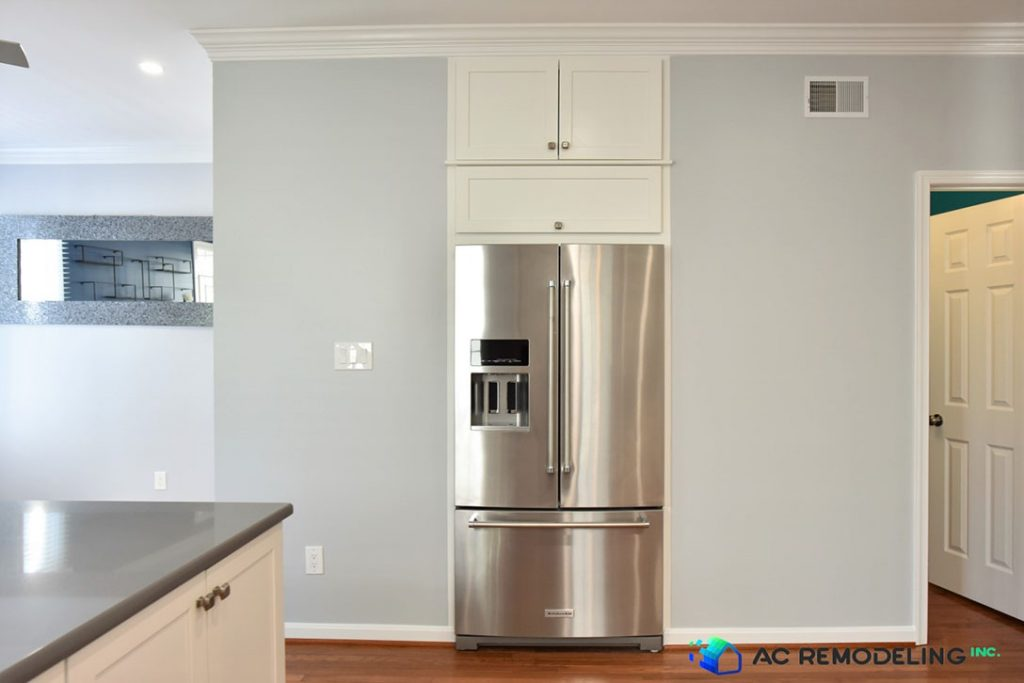 stainless steel refrigerator for kitchen