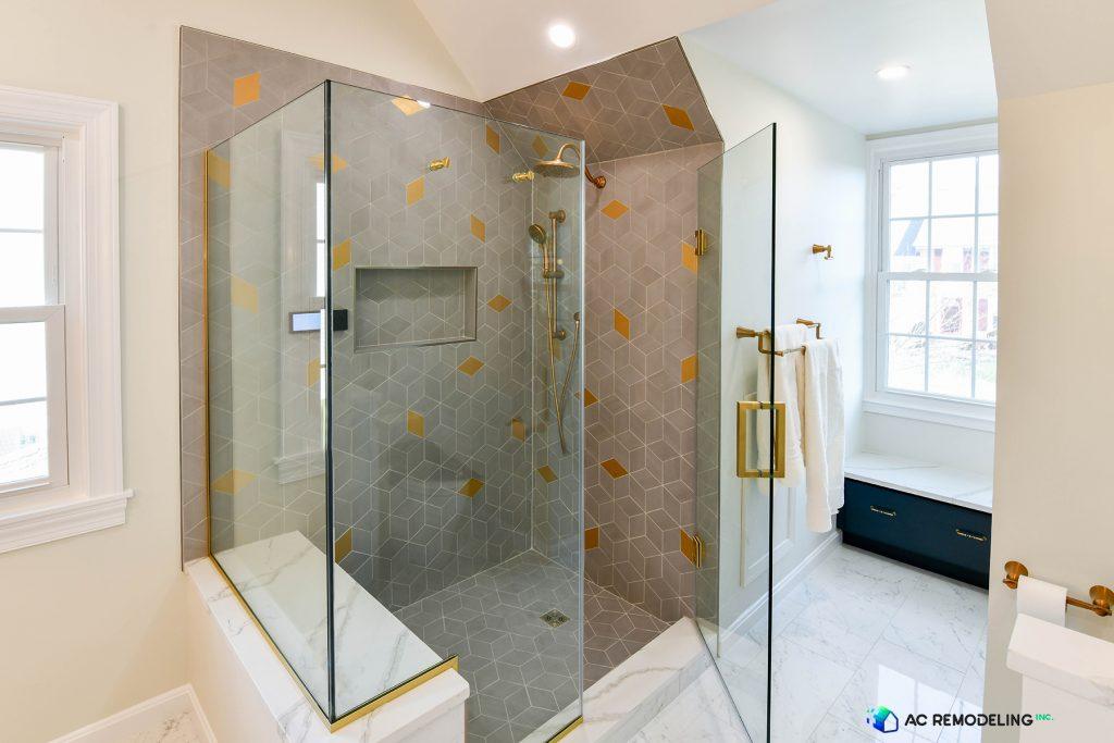 Walk-in Smart Shower in Master Bathroom