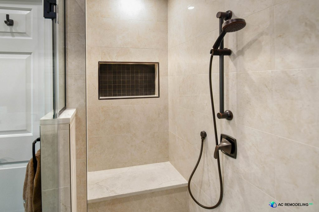 Shower Bench and Niche