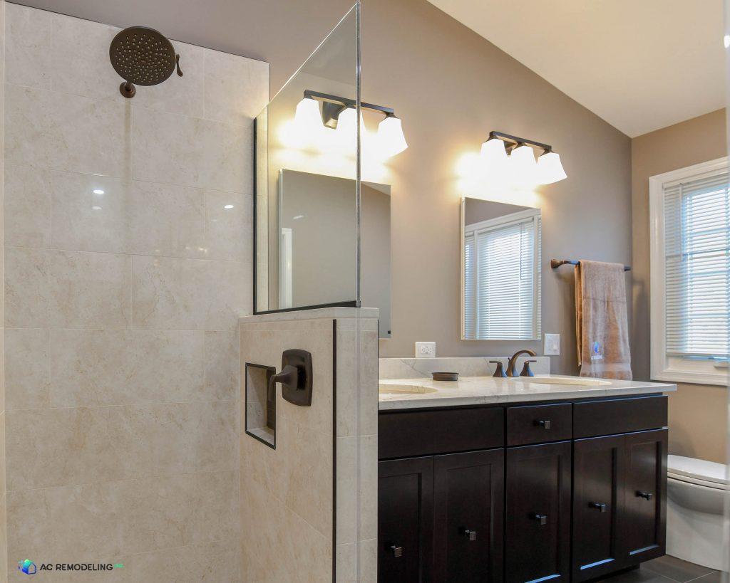 Custom Master Bathroom, Bathroom Wall Tile